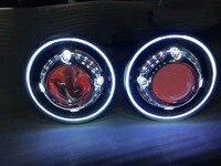 Для Hummer H1 H2 светодиодный фара 60 Вт 7 дюймов светодиодный фары высокий низкий пучок Ангел глаз DRL Янтарный Включите сигнал для Jeep Wrangler JK лампа