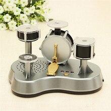 Горячая мини-Пальчиковый барабан светодиодный светильник сенсорные ударные образовательные Музыкальные инструменты музыкальные игрушки для детей Подарки