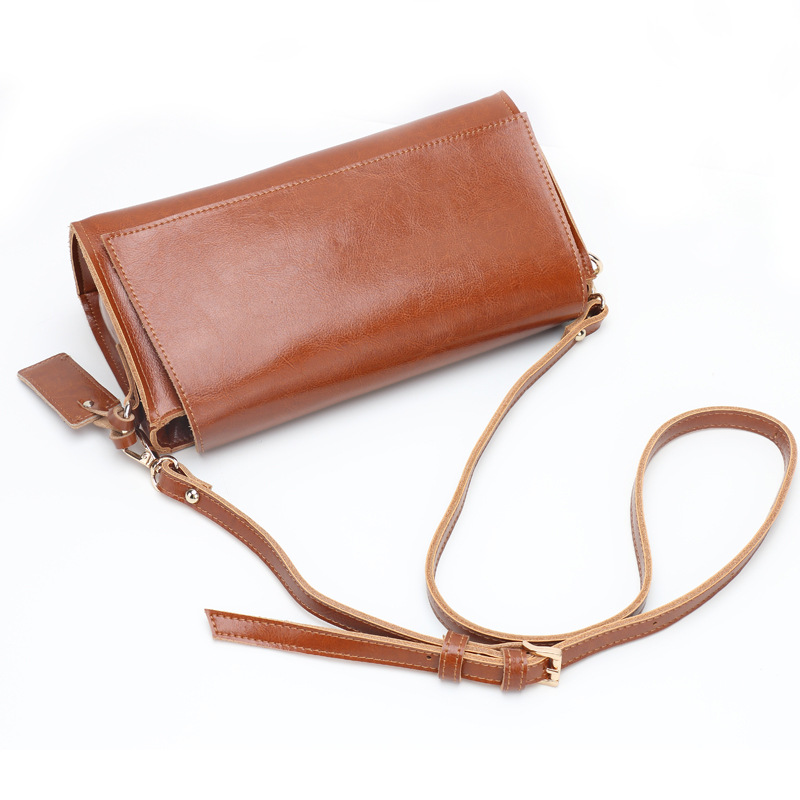 Simple Leather - New handbag shoulder Bag Retro Split Leather Fashion Korean diagonal mail bag new leather women bag white fashion satchel simple atmosphere retro handbag speedy bag