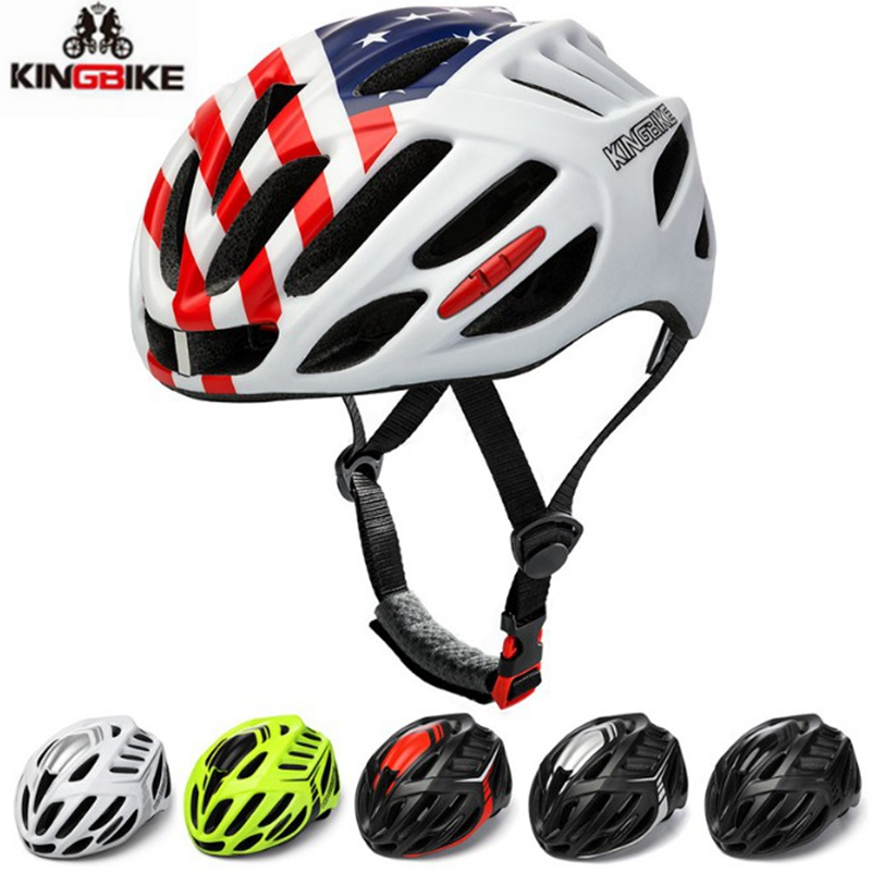 Casco, Ultralight, Integrally-molded, Mountain, KINGBIKE, Ciclismo