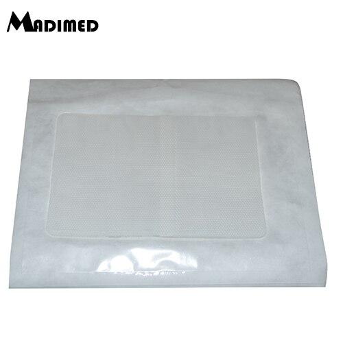 Силиконовый гель шрам повязка на выживание шрам от 12x8 см силиконовый гель шрам лист для удаления шрамов патч Набор для лечения полоски - Цвет: white