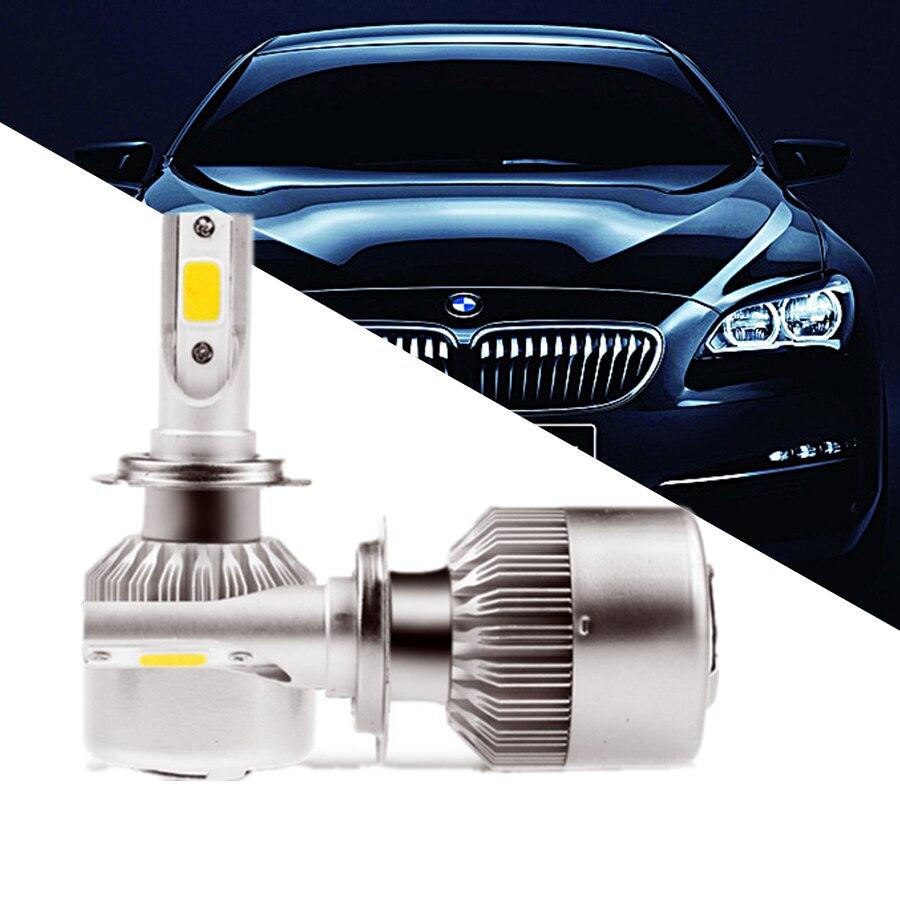 D2S D4S H4 H7 H1 H11 Led Headlight 12V Beam Auto Car Led Bulb Kit 6500K