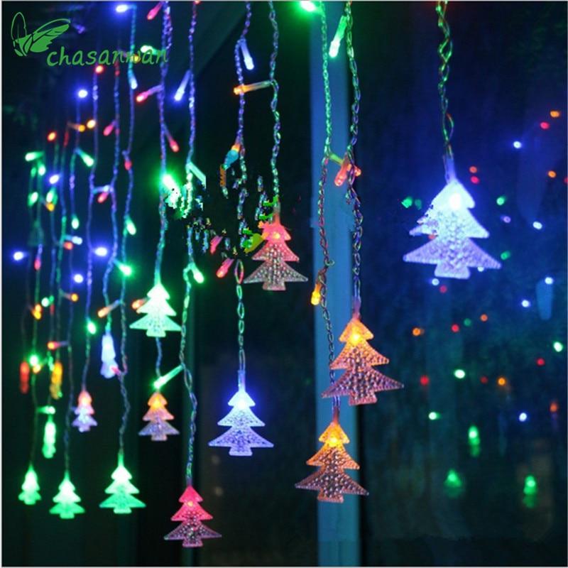 Luz LED rbol de Navidad 35 metros 96 luces Navidad Ao Nuevo