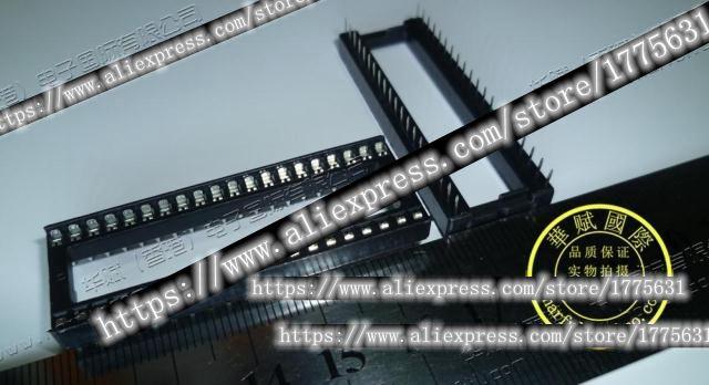 (10PCS) 40 pin DIP IC socket IC socket DIP40 In Stock