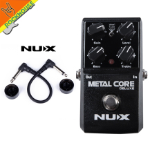 NEW NUX Metal Core Deluxe Extreme distortion guitar effect pedal high-gain heavy rock Effects upgradable stompbox free shipping
