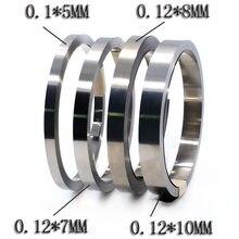 10m 0,12mm 18650 Li-Ion batería de níquel de hoja Chapado en níquel de correa de acero de cinta conector SPCC de soldadura BMS piezas/7/8/10mm