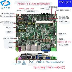 Image 2 - عالية الجودة إنتل كور i7 3537U المعالج 4 جيجابايت ذاكرة عشوائية اللوحة الصناعية سلسلة المدى لوحة تحكم رئيسية ITX مصغر