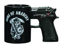 Sons of anarchy gun becher keramik glasur tasse