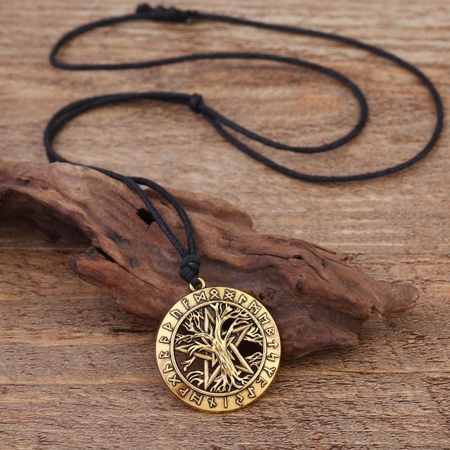 Dawapara Tree Of Life with Star Necklace 3