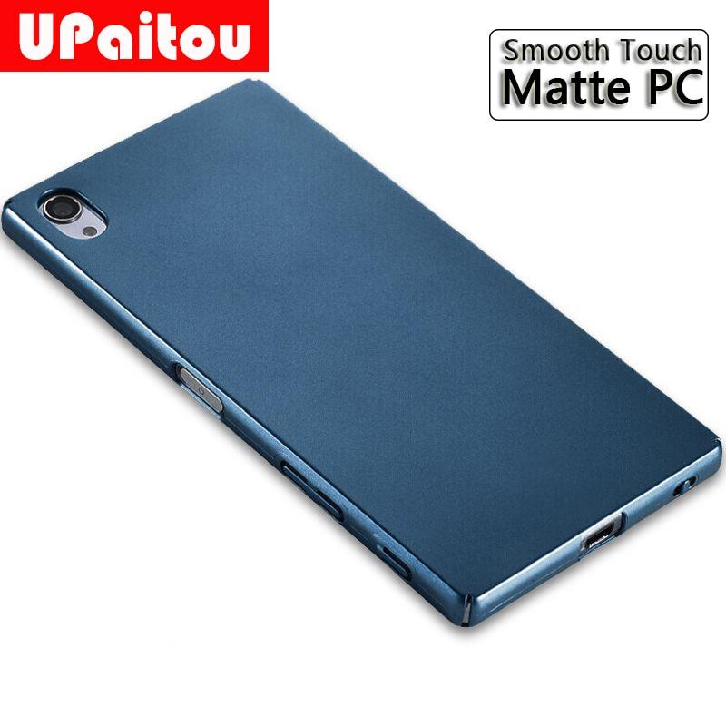 UPaitou Case for Sony Xperia Z5 XZ Premium XZ1 XZ2 Mini XZ3 XA XA1 XA2 Plus Ultra Thin Hard PC Matte Cases for SONY Z5Plus Cover