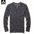 Primavera tamaño grande 8xl camiseta 2017 de los hombres otoño primavera moda casual clothing 4xl 6xl 7xl masculina manga larga top tees