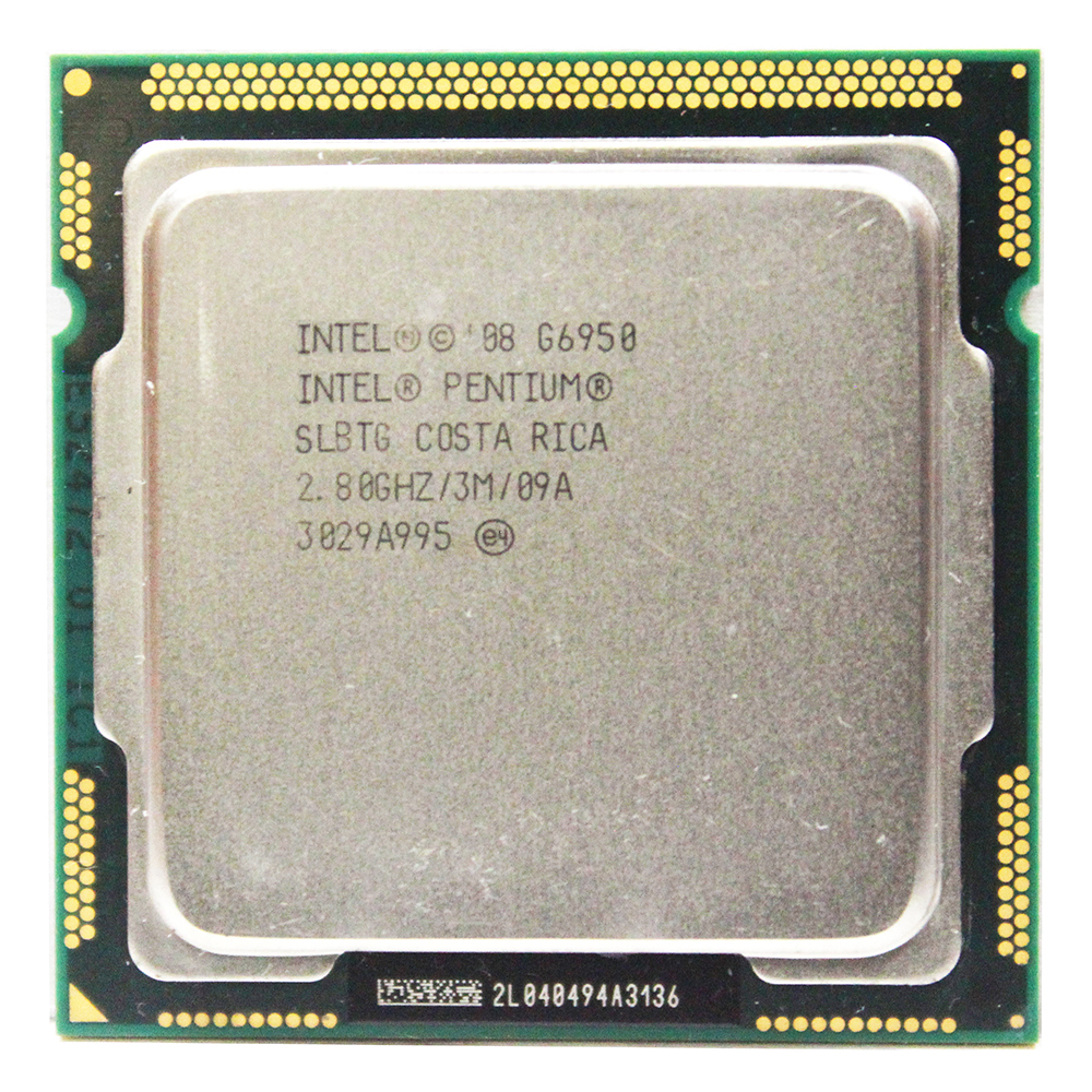 Original Intel Pentium Dual-Core G6950 Processor 2.8GHz 3MB Cache LGA1156 73W Desktop CPU