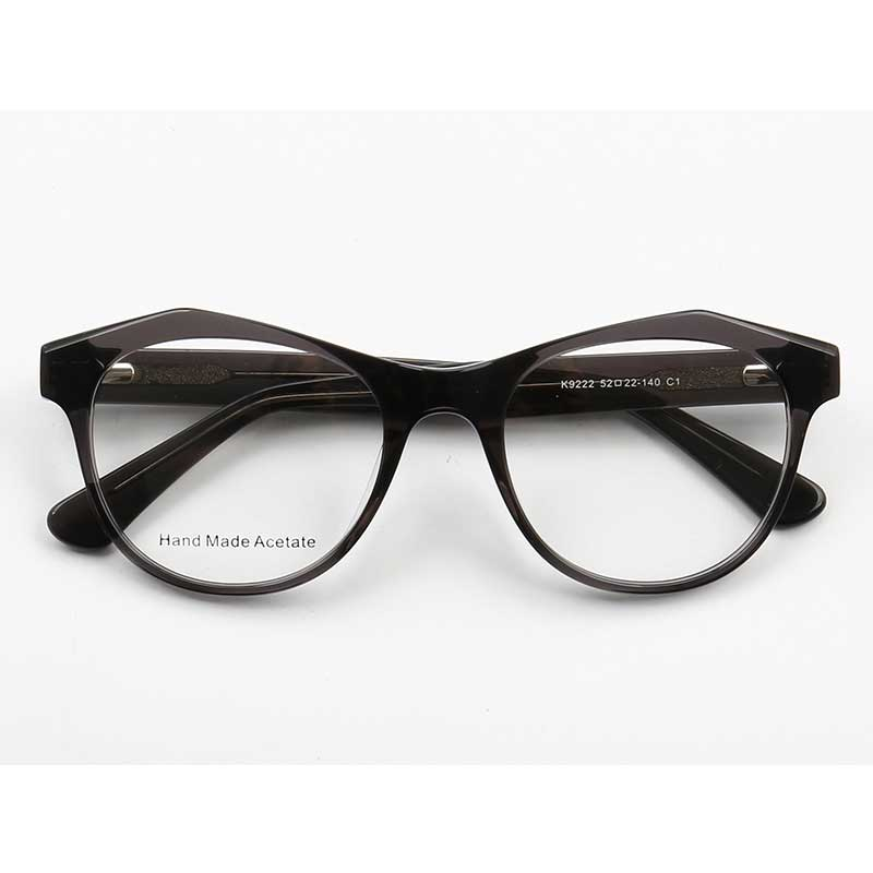 YOUTOP Men's Women's Round Optical Frames Special Fashionable Eyewear Acetate Eyeglasses K9222
