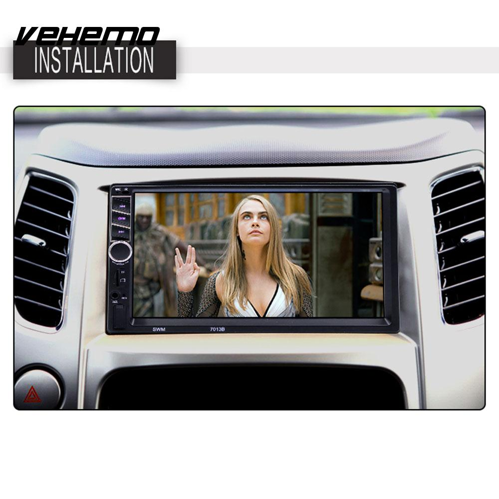 Vehemo 7inch FM/USB/AUX MP5 Player Car MP5 Player Radio Auto MP5 Player Rear View Car Stereo Flexible AutomotiveVehemo 7inch FM/USB/AUX MP5 Player Car MP5 Player Radio Auto MP5 Player Rear View Car Stereo Flexible Automotive