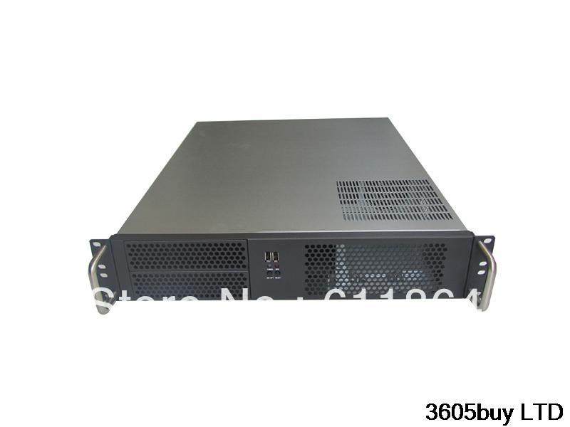 все цены на New 2u industrial computer case 2u server computer case 6 hard drive 2 optical drive 550 large-panel high онлайн