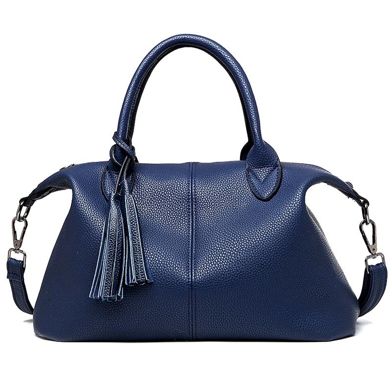2016 famous designer brand tassel women messenger bags leather handbags bolsas fashion sac main femme de marque  -  Enjoy your life international trade co., LTD store