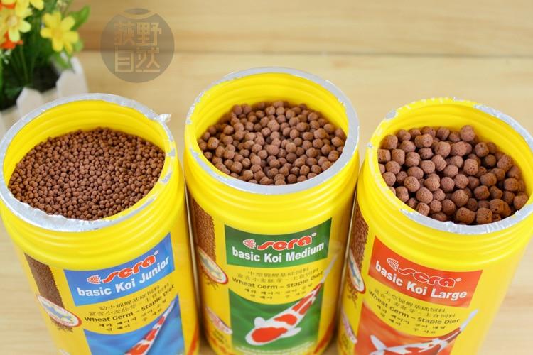 Fish food pond japan koicryprinus carpiod pellets granules for Comida para koi
