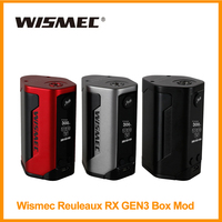 [Russian/US] Original Wismec Reuleaux RX GEN3 Box Mod Output 300W Vaporizer Powered 18650 Battery Vape Kit E cigarette HKWH