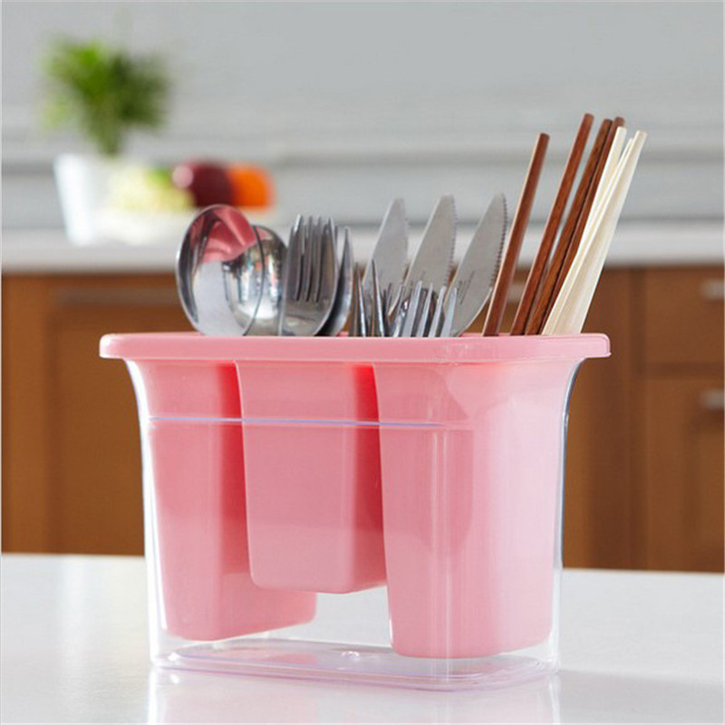 Dunmore Candy Kitchen Home: Kitchen Drain Box Drain Cutlery Storage Box Candy Color