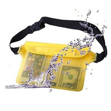 Women&Men 100% Waterproof Waist Bags Phone Pouch Belt Pack Candy Color Bag Ladies Zip Fanny Pack Women's Handbags Belt Bag #5952