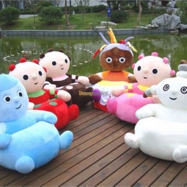 Fancytrader Full Set of In the Night Garden Funny Soft Plush Cute Sofa Tatami, 6 Models, FT50656  (2)