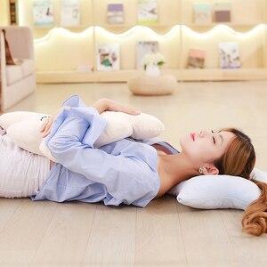 Image 3 - かわいいスカイシリーズぬいぐるみムーン、スター雲ちょう結びぬいぐるみおもちゃソフトクッション素敵なベビー睡眠枕の装飾