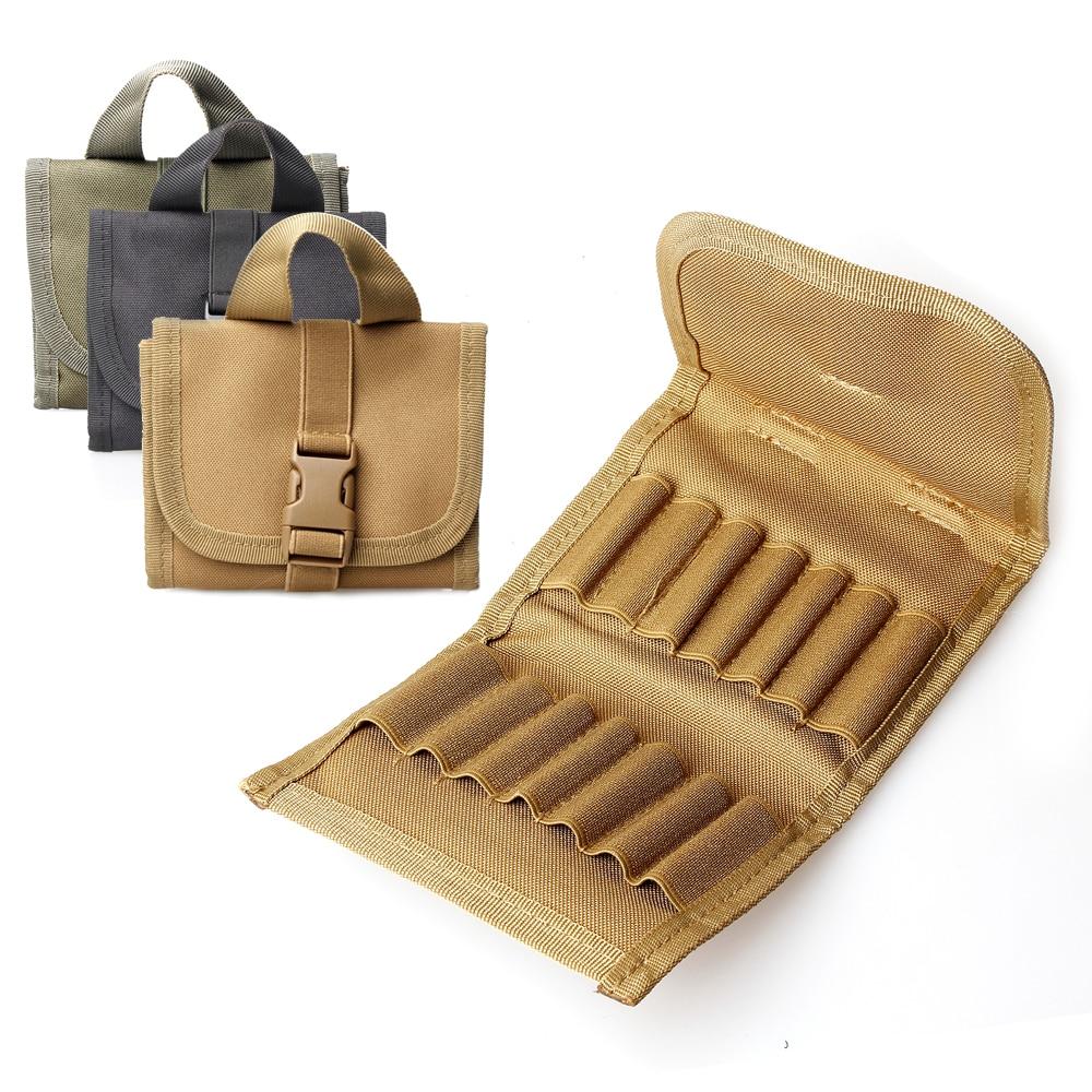 Vapanda Nylon Ammo Pouch Cartridge Belt Carrier Bag Shotgun Holder Case Tactical Hunting Rifle Ammo Pouch 45acp laser ammo