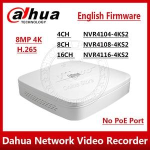 Image 1 - Dahua Original NVR4104 4KS2 NVR4108 4KS2 NVR4116 4KS2 4/8/16 Channel Smart 1U 4K&H.265 Lite Network Video Recorder