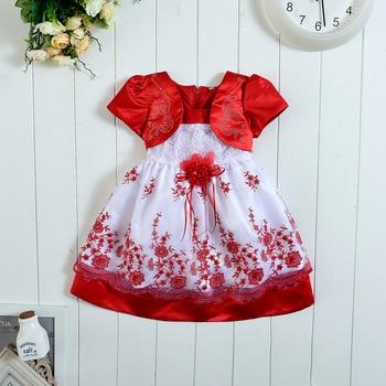 0f9307620 Vestidos para niñas 1 2 3 4 años bebé Niñas Ropa púrpura Azul Rojo colorido  princesa vestido rupas infantil niña con lentejuelas