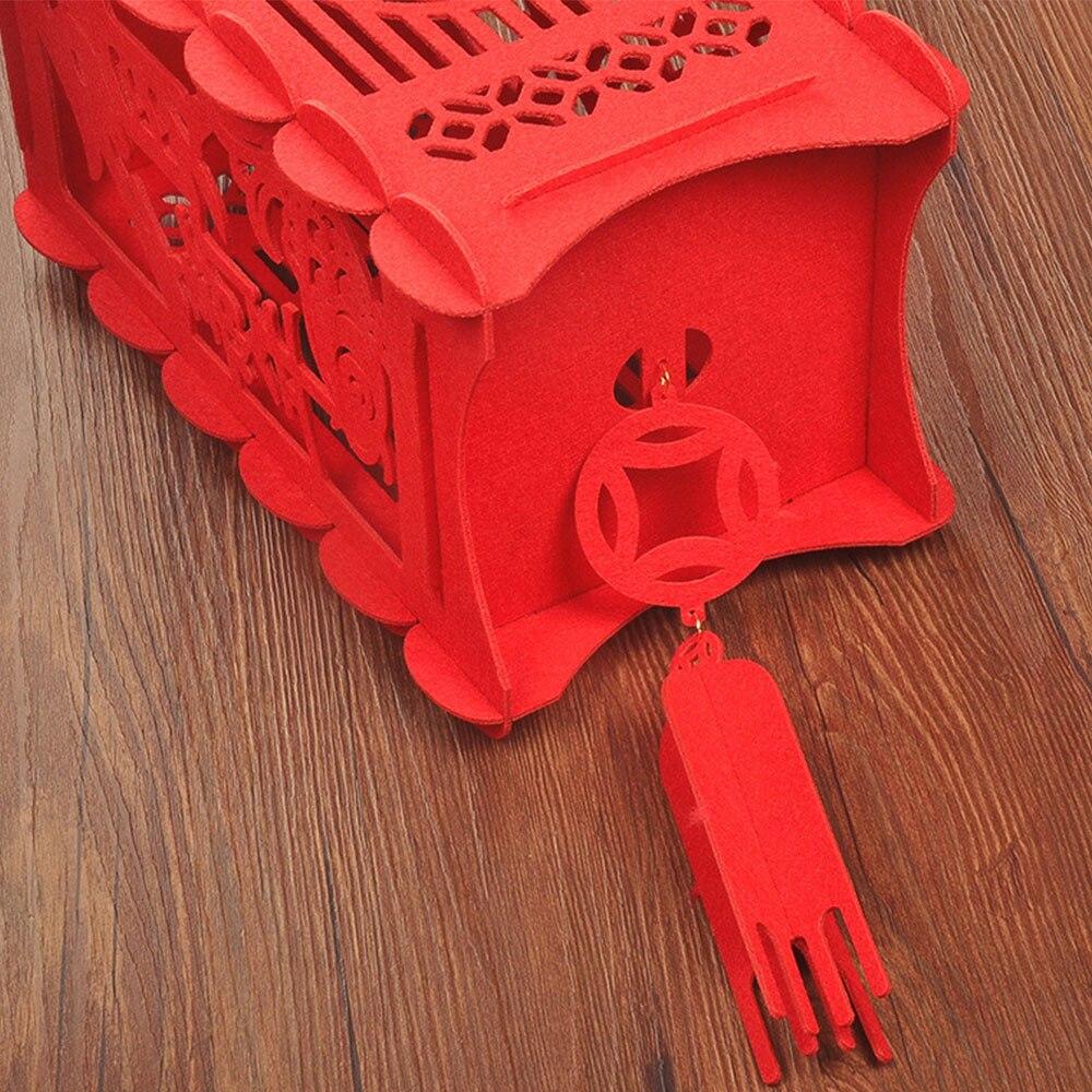 Китайский фонарь, 3D фонарь, счастливый год, весенний фестиваль, подвесной нетканый материал, праздничный китайский красный фонарь, красивый