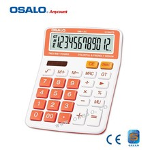 OS-13C Plastic Material and Calculate Usage Calculator with Root Square Dual Power Calculadora Orange Solar Hesap Makinesi