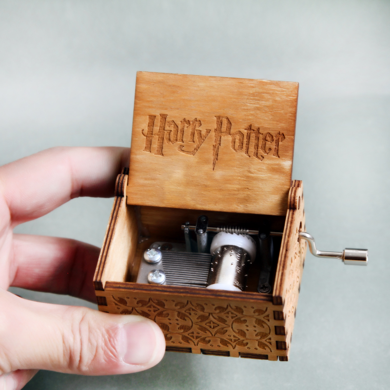 Free shipping Harry Wooden Music Box Potter Game of Thrones gift for Chirstmas happy birthday new year gift children gift