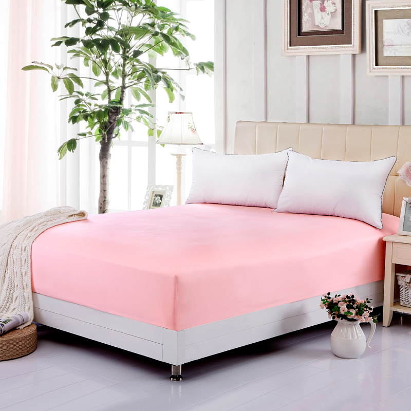 Whole Solid Color Sheets Ed Bed Sheet Elastic Mattress Cover Linen Bedspread Polyester Full Queen Mm001 In Covers Grippers From Home