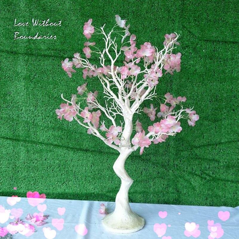 Simulatie, wit kerstboom, stuurpen tak, kofferbak, milieubescherming hars, 8 kleuren kan kiezen
