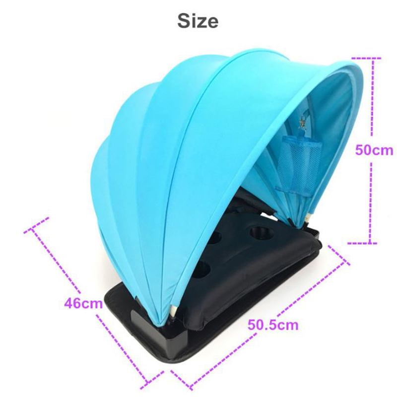 Personal foldable sun shelter 1