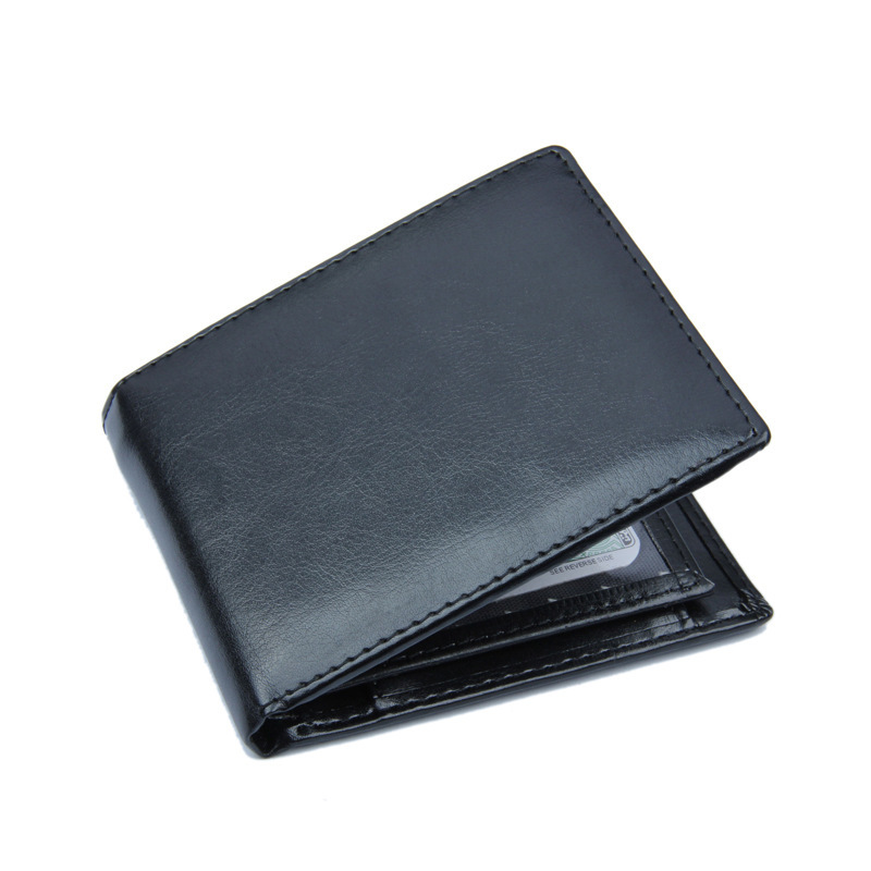 New Men Wallets Brand High Quality Design Wallets with Coin Pocket Purses Gift For Men Card Holder Bifold Male Purse