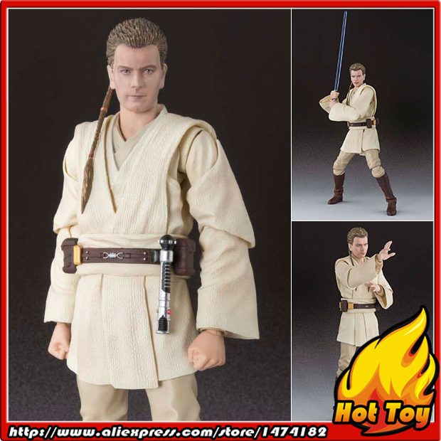 100% Original BANDAI Tamashii Nations S.H.Figuarts (SHF) Action Figure - Obi-Wan Kenobi (Episode I) from