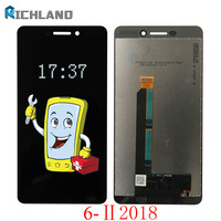 Original LCD For Nokia 6 II 2018 LCD DIsplay Touch Screen Digitizer Assembly For Nokia 6 6.1 2018 TA 1043 TA 1045 1050 1054 1068