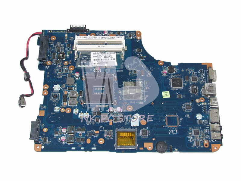K000092540 NSWAA LA-5321P For Toshiba Satellite L500 Laptop Motherboard System Board HM55 DDR3 k000083110 motherboard for toshiba satellite l500 kswaa la 4981p