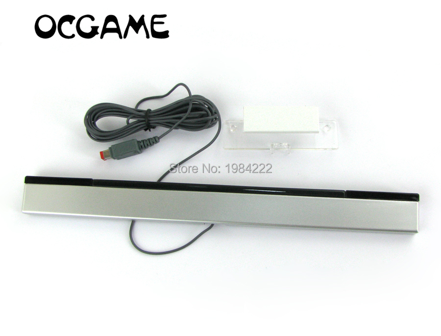 OCGAME New Wired Infrared IR Sensor Bar For Nintendo For Wii Control Replacement Video Game Accessories 10pcs/lot