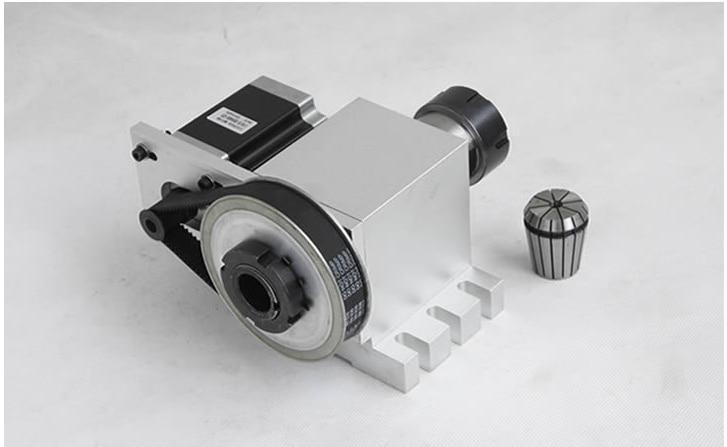 Máquina de grabado máquina de cuarto eje del eje de rotación del eje ...
