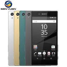 Original Sony Xperia Z5 E6653 teléfono desbloqueado RAM 3GB ROM 32GB GSM WCDMA 4G LTE Android Octa Core 5,2 pulgadas 23MP Cámara