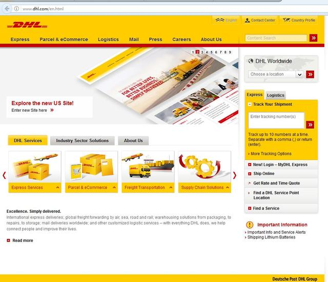 DHL/Fedex taxa remoto