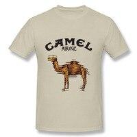 2017 New Coming T Shirt Men Camel T Shirts Animal Slim Fit Printing Short Sleeve Men
