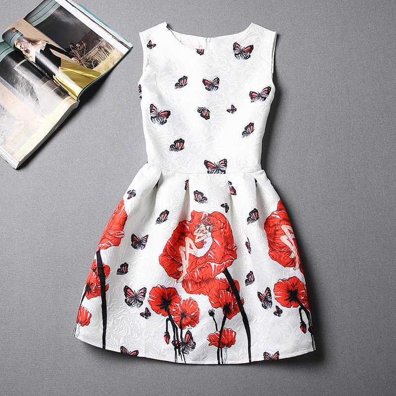 187622e10 Girls rojo blanco vestidos vestido 12 años Verano 2015 nuevas llegadas 15 ropa  moda adolescente