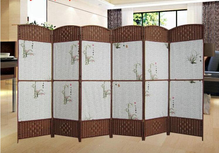 screen partition fashion cloth screen screen fabric household solid wood office wall partitions entrance way cheap office partition