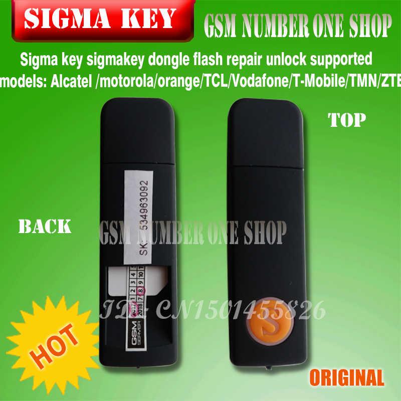 100% original Sigma Key Sigmakey Unlock dongle Flash/Unlock/Repair Tool For  MTK China Mobile Phones