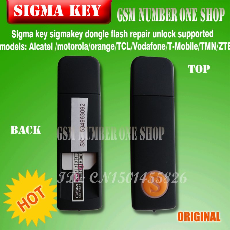 ③100% original Sigma Key Sigmakey Unlock dongle Flash/Unlock/Repair