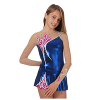 2017 New Dragonfly Manufacturers Design Artistic Gymnastics Wear Costumes Training Suit Costume Ice Skating Dress YT14