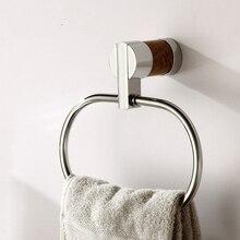 Уникальный дизайн твердый латунный медь и мраморный розовое золото готовые аксессуары для ванной комнаты полотенце кольцо, полотенце держатель, вешалка для полотенец
